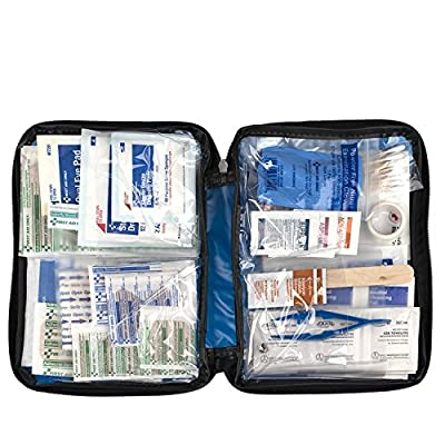 First Aid Only All-purpose First Aid Kit, Soft Case (131 Piece) by First Aid Only.