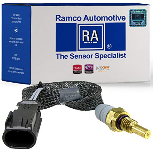 Ramco Automotive, Engine Coolant Temperature Sensor, Compatible with Wells SU9669, Standard Motor Products TX136 (RA-TS1193)