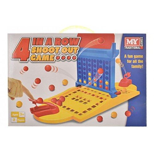 Toyland® I miei giochi tradizionali 4 In A Row Sparano fuori gioco di famiglia Toyland®