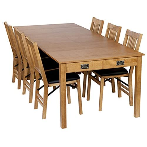 8 person dining table dark wood stakmore traditional expanding table finish oak person dining table amazoncom