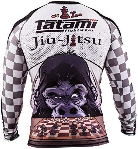 Tatami Ajedrez Gorila Manga Larga Camiseta De Neopreno