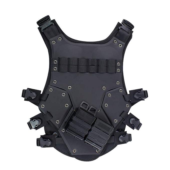GXYWAN Chaleco Táctico Equipo De Protección Táctica King Kong Chaleco,Black,Uniformcode: Amazon.es: Deportes y aire libre