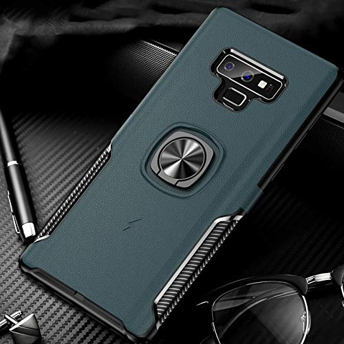 Fitted Cases - Luxury Invisible Bracket Cases for Samsung Galaxy Note 9 8 S9 S8 Plus S9Plus Magnet Card Holder Finger Ring Cover Case - by Aquaman Store - 1 PCs (Samsung Note 3 Neo Best Price)