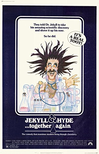 JEKYLL AND HYDE... TOGETHER AGAIN (1982) Authentic Original Movie Poster - Single-Sided - 27x41 - Mark Blankfield - Bess Armstrong - Tim Thomerson