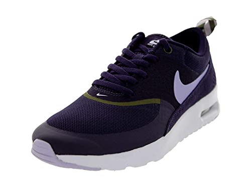 best authentic 90467 f55e7 Nike Women s Air Max Thea Running Shoes. Size 11. Purple Dynasty Volt Frost  Medium Olive  Amazon.co.uk  Shoes   Bags