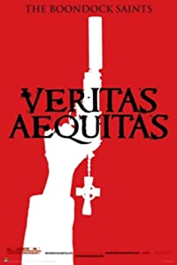The Boondock Saints Veritas Red Movie Poster 24x36 inch