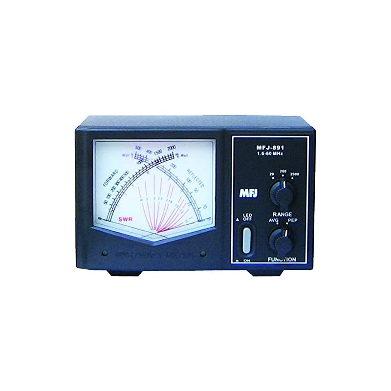 MFJ-891 Giant X Watt meter - 1.6 - 60 Mh