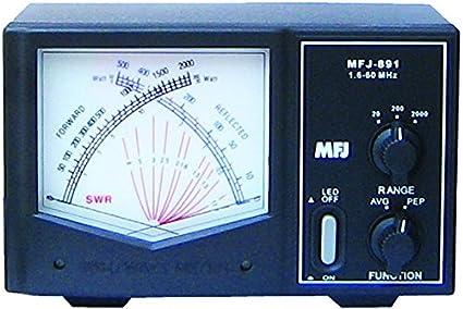 MFJ-891 Giant X Watt meter - 1 6 - 60 Mhz, 2KW