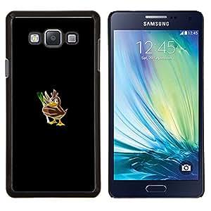 LECELL--Funda protectora / Cubierta / Piel For Samsung Galaxy A7 A7000 -- Empuje mosnter Pato --