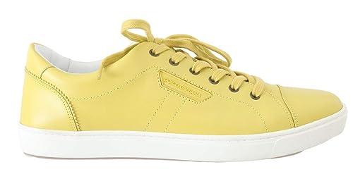Giallo Gabbana Sneaker it Dolce Amazon 45 amp; yellow Eu Uomo UIwUEaF5xq