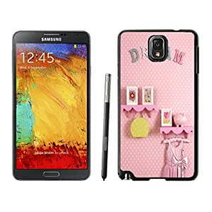 Beautiful Unique Designed Cover Case For Samsung Galaxy Note 3 N900A N900V N900P N900T With Dream Black Phone Case