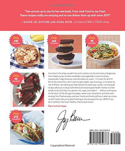 From junk food to joy food all the foods you love to eaty from junk food to joy food all the foods you love to eaty better amazon joy bauer 9781401950378 books forumfinder Gallery
