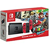 Nintendo Switch - Super Mario Odyssey Edition (Physical Game) Bundle