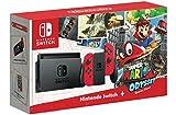 Nintendo Switch - Super Mario Odyssey Edition (Physical Game) Bundle
