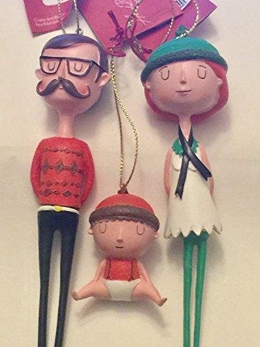 Hipster Beatknik Family Christmas -