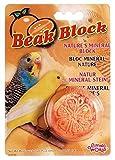 Living World Mineral Block, Orange for Parakeets, 1-Ounce
