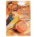 Living World Mineral Block, Orange for Parakeets, 1-Ounce