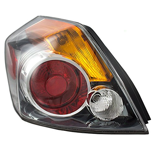 Taillight Tail Lamp Lens Driver Replacement for 07-12 Nissan Sentra Sedan 26555-ZN50A ()