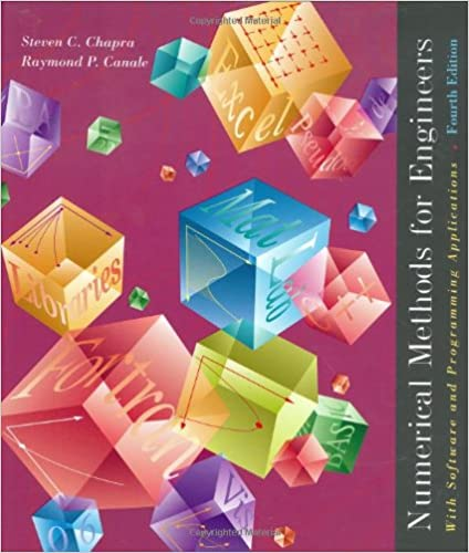Numerical Methods for Engineers: With Software and Programming Applications 9780072431933 Industrial Engineering at amazon