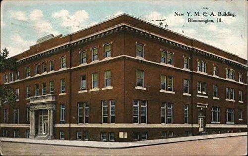 New YMCA Building Bloomington, Illinois Original Vintage - Ymca New Building