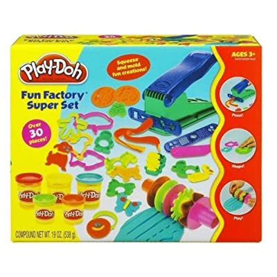 Fun Factory Super Set Play-Doh Set: Sports & Outdoors