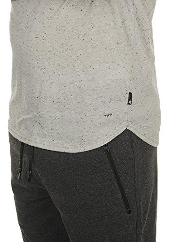 T Redondo Camiseta 2325 Con Grey Light Hombre Manga shirt De Cuello solid Para Thias Básica Corta RYwpq1qB