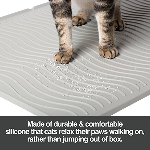 Litter mats for cats