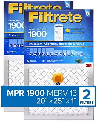 2-Pack Premium Allergen /& Home Pollutants Filtrete 14x20x1 Smart Replenishable AC Furnace Air Filter exact dimensions 13.84 x 19.84 x 1.1 MPR 2200