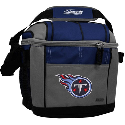 NFL Tennessee Titans 24 Can Soft Sided Carry Coleman Cooler (Nfl 24 Can Cooler compare prices)