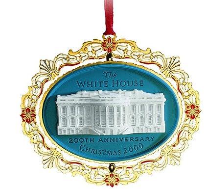 2000 White House Christmas Ornament, 200th Anniversary of the White House - Amazon.com: 2000 White House Christmas Ornament, 200th Anniversary