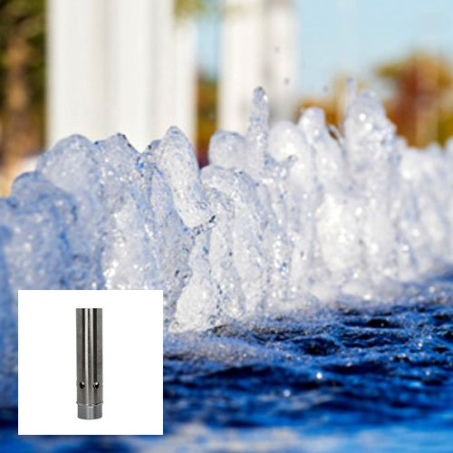 Aquacade Fountains Stainless Steel DN50 2'' Bubbling Spring Fountain Nozzle