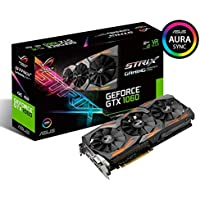 ASUS Strix GeForce GTX 1060 Advanced Edition 6GB GDDR5 192BIT DVI 2xHDMI 2xDP Ekran Kartı