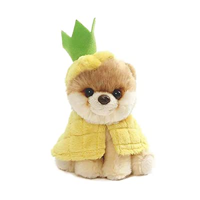 "GUND Itty Bitty Boo Pineapple Plush Stuffed Dog, 5"": Toys & Games"