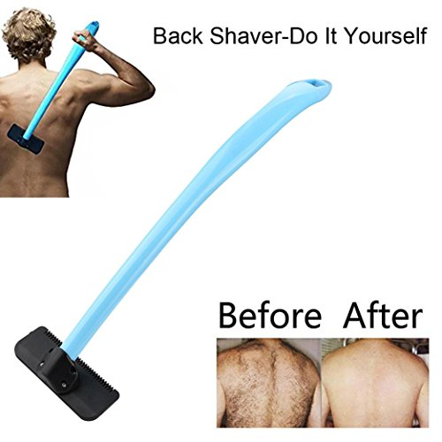 Back Shaver, Manual Body Groomer for Men with Easy to Use Extra-Long Handle