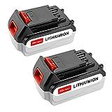 Powilling 2 Pack 20V MAX 4500mAh Replacement Battery for Black&Decker LBXR20 LBXR20-OPE LB20 LBX20 LBX4020 LB2X4020-OPE Black and Decker Lithium