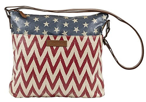 Antebellum Canvas Explorer Crossbody Bag
