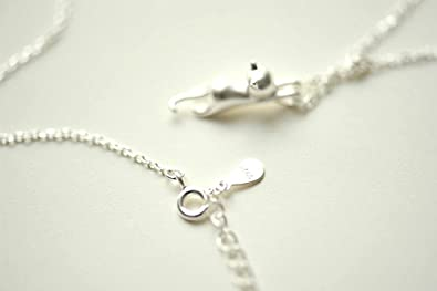 Amazon silver ladies necklace pendant mozeypictures Image collections