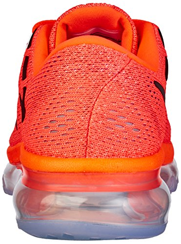 2016 Black Donna Wmns Max Glow da Scarpe NIKE Naranja sunset Hyper Orange Air Ginnastica nxt0wxP