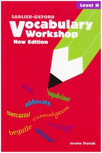 Vocabulary Workshop: Level H