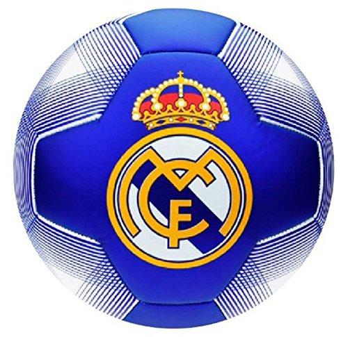 Real Madrid Gran de balón de fútbol de azul: Amazon.es: Jardín