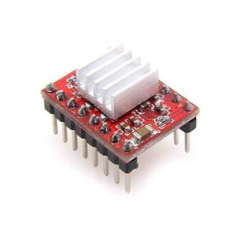 CNC Machine or Robotics RepRap Champion 5 PCS Allegro A4988 StepStick Stepper Motor Drivers for 3D Printer Electronics