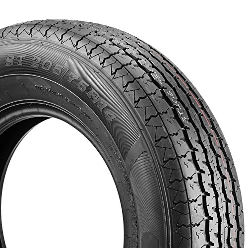 ST205/75R14 Load Range D MaxAuto Radial Trailer Tires ST205/75R-14 8Ply(Pack of 2) by MaxAuto (Image #3)