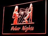 Poker Nights Sexy Girl Led Light Sign