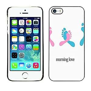 - Voyage - - Monedero pared Design Premium cuero del tirš®n magnšŠtico delgado del caso de la cubierta pata de ca FOR Apple iPhone 5 5S Funny House
