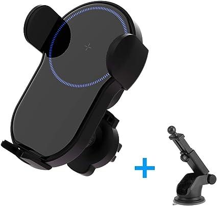 HMHD Cargador Coche InaláMbrico, Sensor Infrarrojo Smartphone ...
