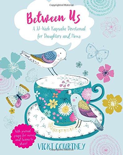 Between Us: A 52-Week Keepsake Devotional for Moms and Daughters