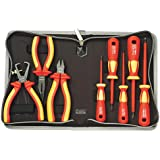 Pro'sKit 902-215 Insulated Screwdriver and Plier Set, 1000V