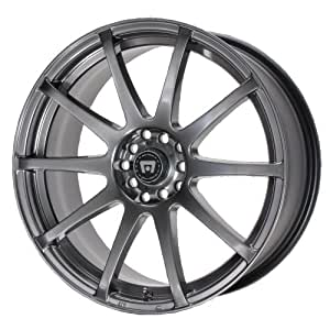 """Motegi Racing MR2747 SP10 Hyper Black Wheel With Clearcoat (18x8""""/5x100, 114.3mm, +40mm offset)"""