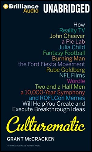 Buy Culturematic: How Reality TV, John Cheever, a Pie Lab