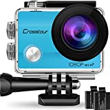 #5: Crosstour Action Camera Underwater Cam WiFi 1080P Full HD 12MP Waterproof 30m 2